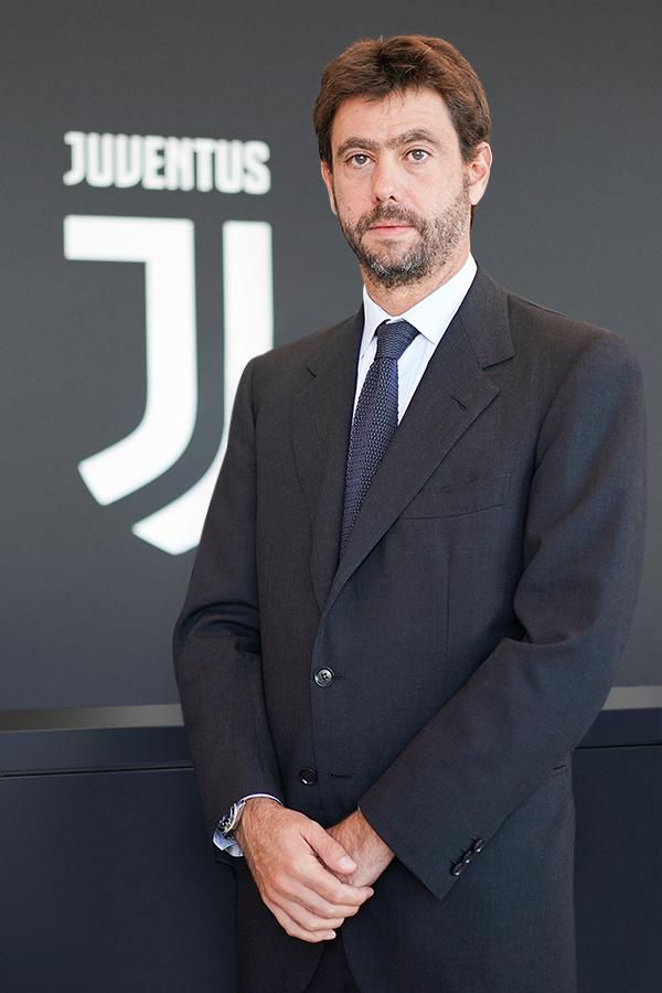 Andrea Agnelli, presidente Juventus