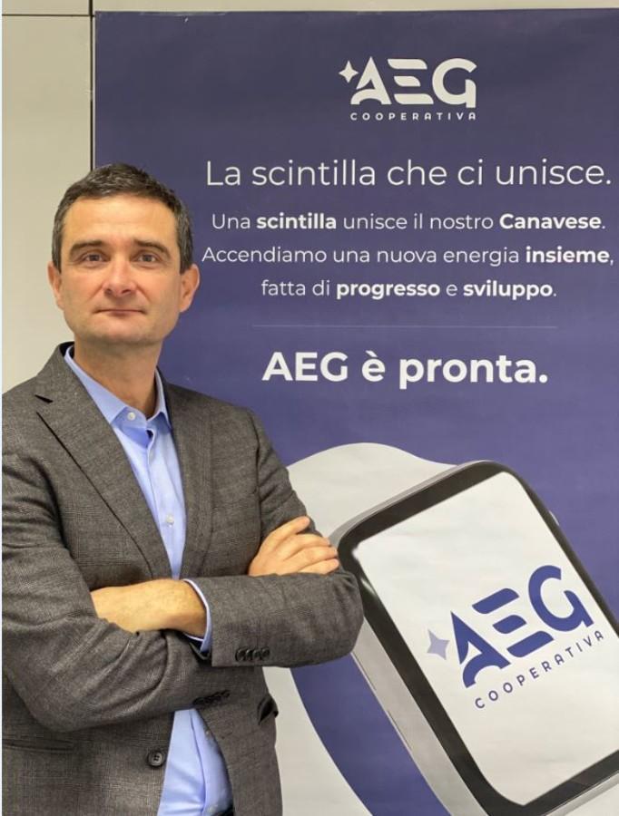 Andrea Ardissone, presidente Aeg Coop di Ivrea