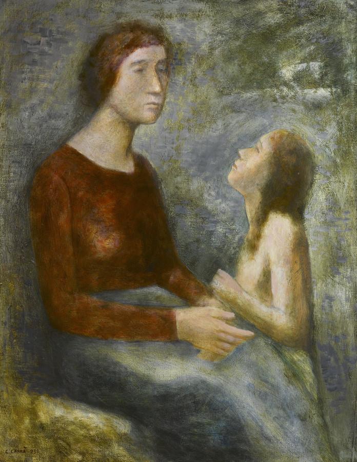 Carlo Carrà: Madre e figlia
