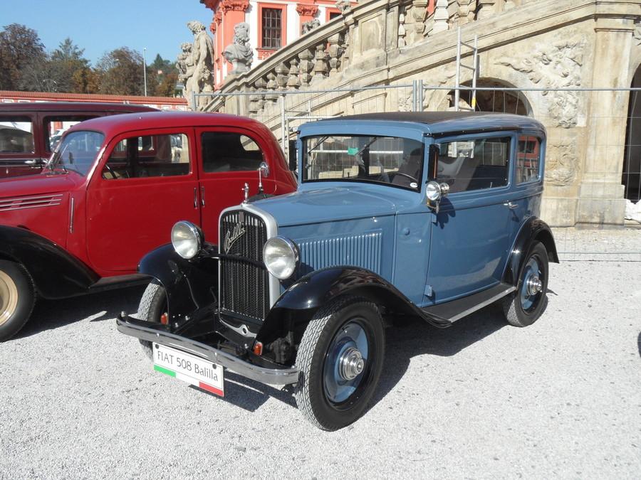 La Fiat Balilla a tre marce