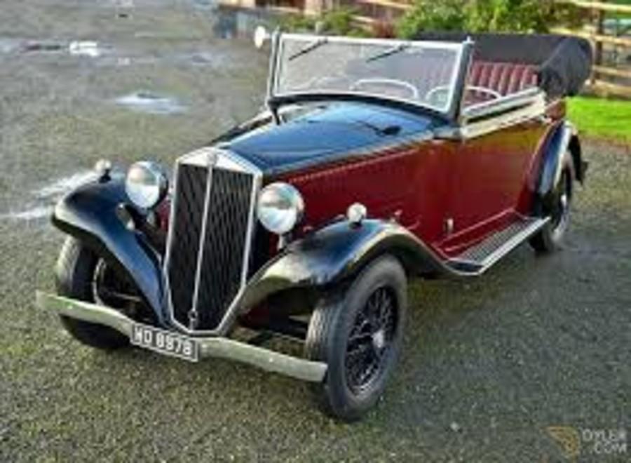 La Lancia Augusta cabrio