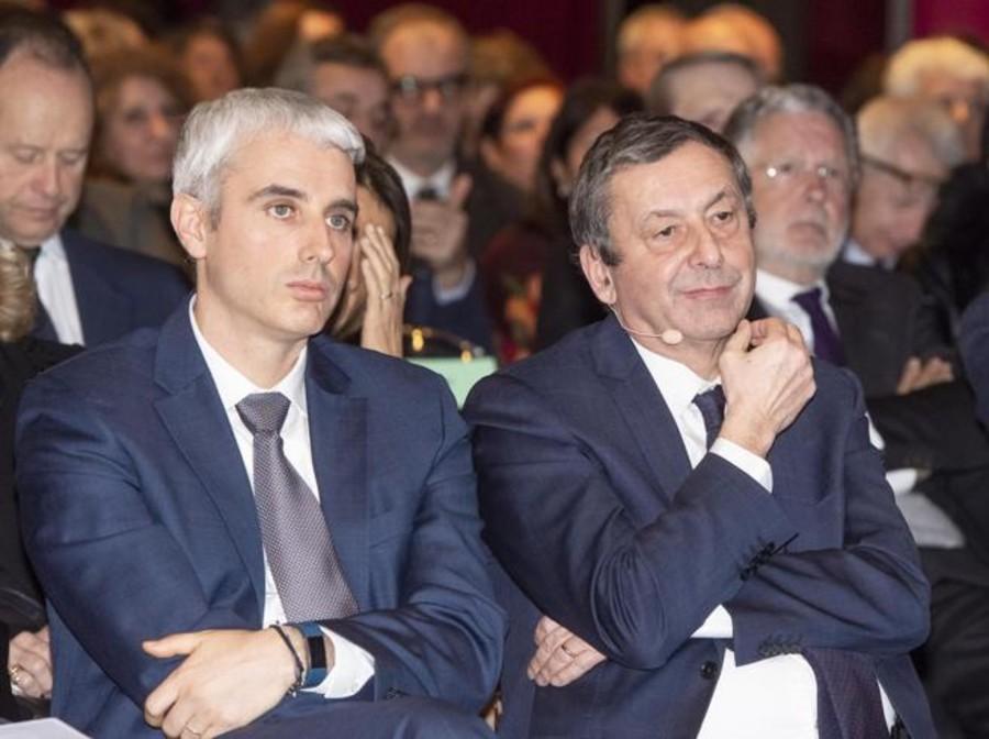 Alberto Anfossi e Francesco Profumo