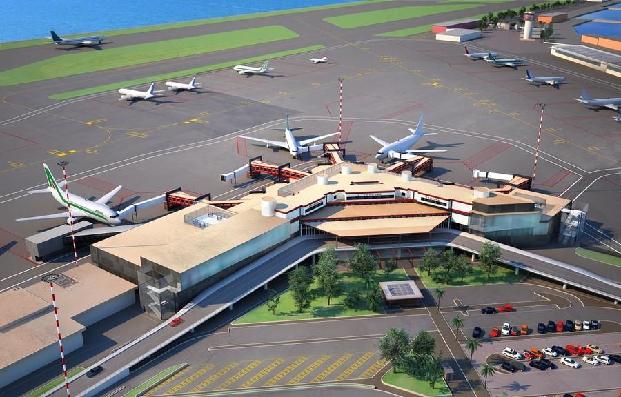 L'aeroporto di Genova