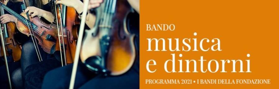 """Bando """"Musica e dintorni"""" per l'Alessandrino"""