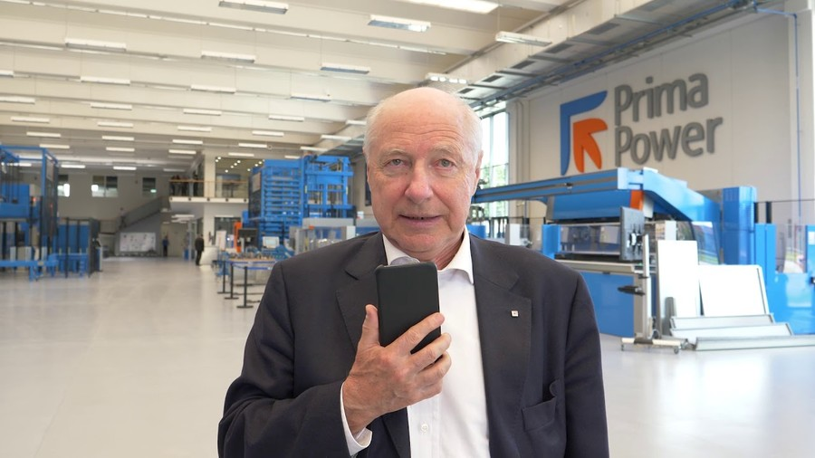 Gianfranco Carbonato, presidente esecutivo Prima Industrie