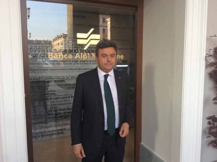 Gianni Cappa, presidente Banca Alpi Marittime