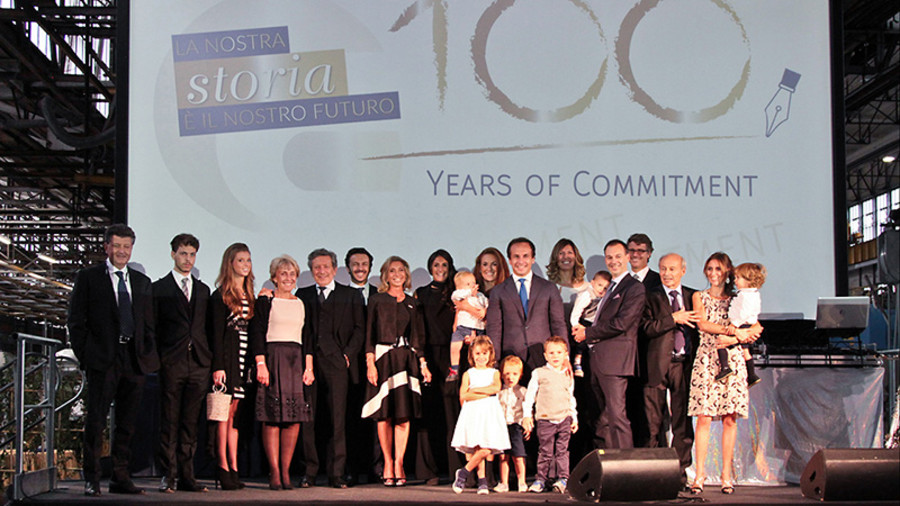 La famiglia Cornaglia al centenario dell'impresa torinese nata nel 1916