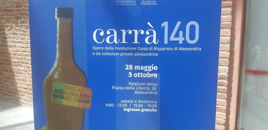 "Alessandria: ""Carrà 140"" riapre a settembre"
