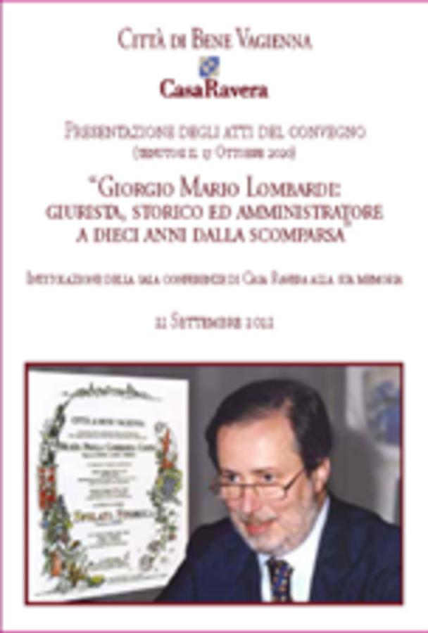 Bene Vagienna ricorda il prof. Lombardi