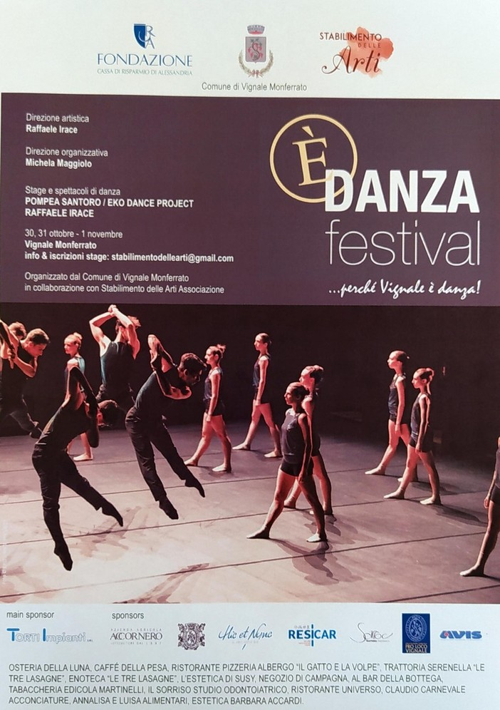 Festival della danza a Vignale Monferrato