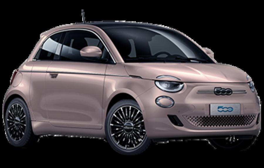 La Fiat 500 elettrica