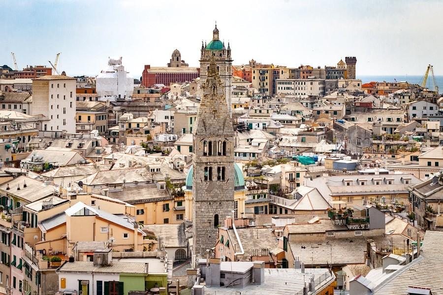Uno scorcio di Genova