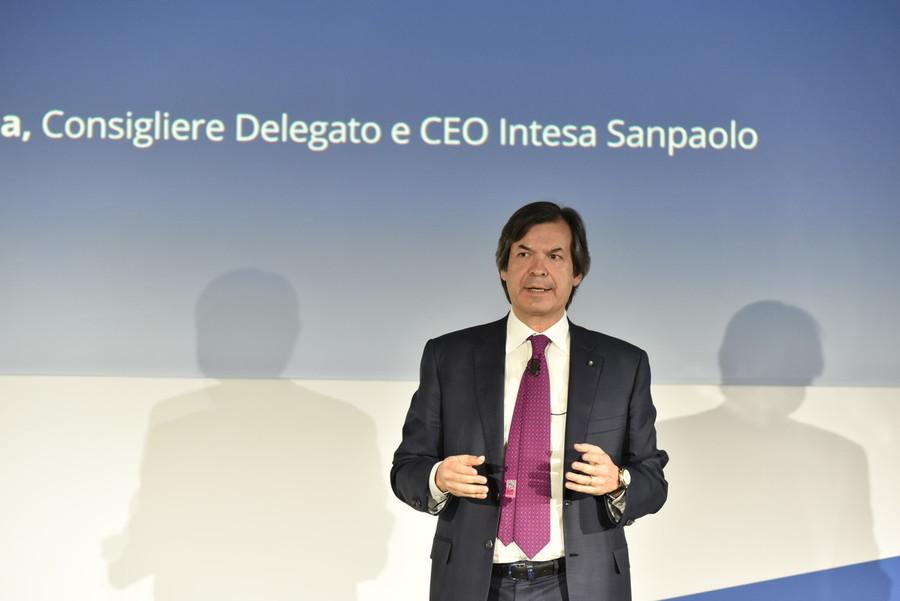 Carlo Messina, consigliere delegato Intesa Sanpaolo