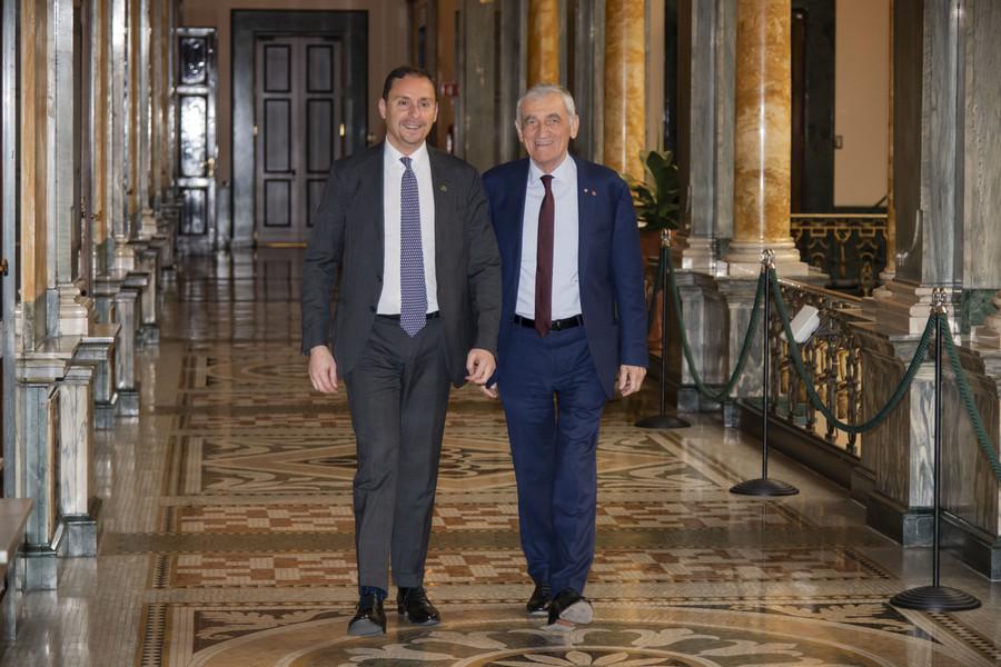 Giovanni Quaglia e Massimo Lapucci
