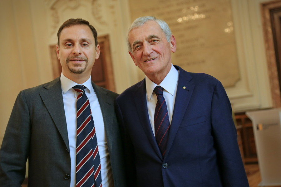 Massimo Lapucci e Giovanni Quaglia