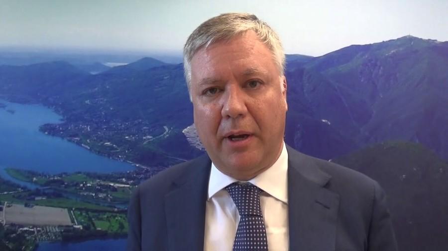 Emanuele Terzoli, presidente Acqua Novara VCO