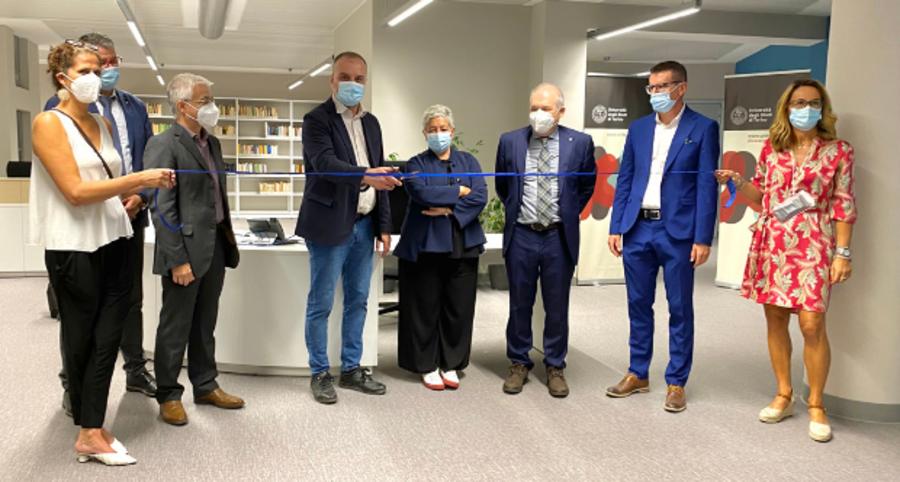 L'inaugurazione del laboratorio Life